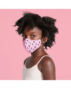 Bloch Masque Enfant B-Safe Imprimé avec Cordon