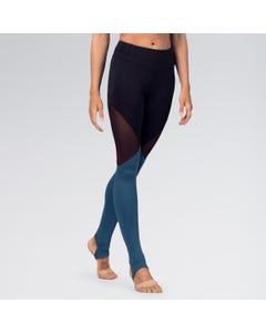 Bloch Full Length Colour Panelled Leggings