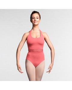 Bloch Idalia Justaucorps avec dos à bretelles croisées et effet tressé