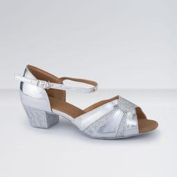 1st Position Chaussures de Danse de Salon en Polyuréthane Brillantes à Petits Talons