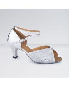 1st Position Chaussures de Danse de Salon en Polyuréthane Brillantes Avec Boucle D`attache
