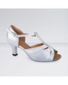 1st Position Chaussures de Danse de Salon Ouvertes en Polyuréthane Avec Lanière en T