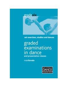 RAD Livre d`Exercices d`Etude et de Danse pour Homme/Femme Niveau Grade 6