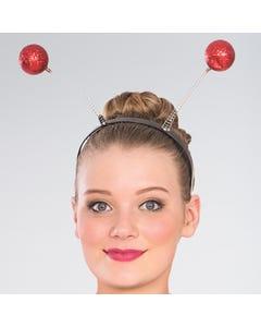 Antennes a paillettes rouges
